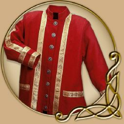 Costume - Red Jacket with Gold Trim